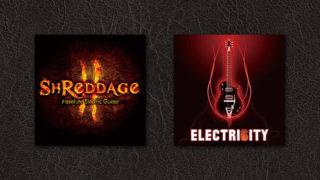 【ギター音源】Shreddage 2 と Electri6ity を比較してみた