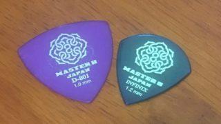 MASTER 8 JAPAN のピックが弾きやすい【レビュー】