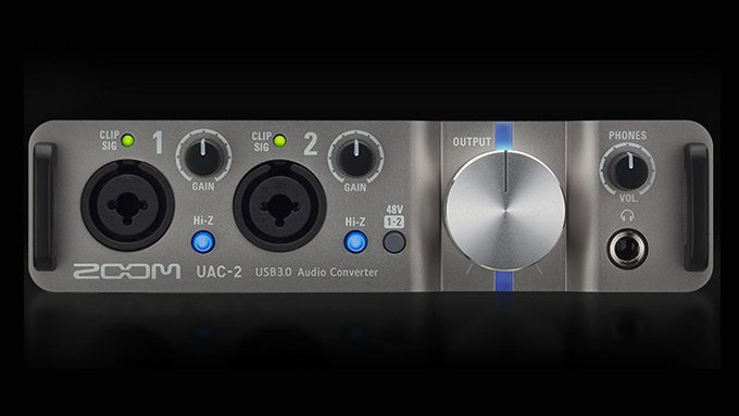 ZOOM UAC-2 レビュー【USB 3.0 オーディオインターフェイス】