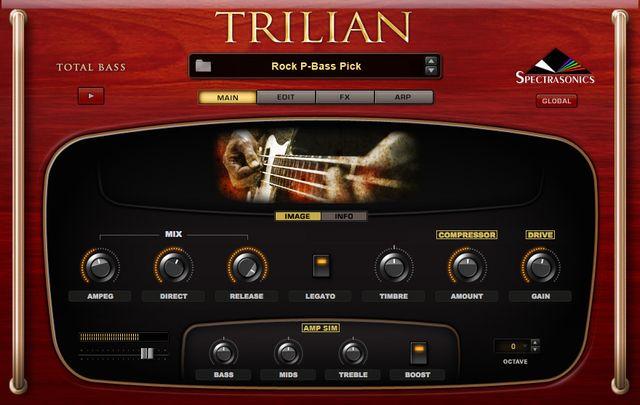 Trilianのメイン画面