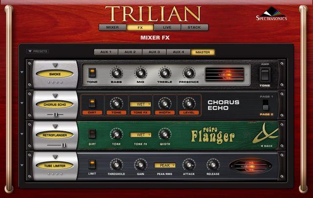 TrilianのFX画面