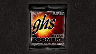 ghs Bass Boomers レビュー【ロックなベース弦】
