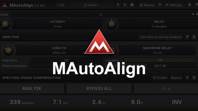 【位相補正】Melda Production「MAutoAlign」レビュー【挿すだけ】