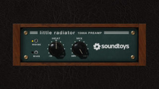 SoundToys Little Radiator レビュー【真空管マイクプリアンプ】