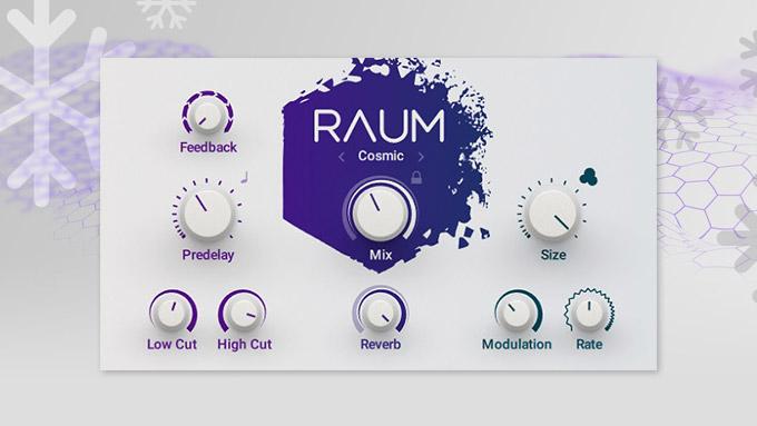 【Native Instruments】RAUM レビュー【クリエイティブリバーブ】