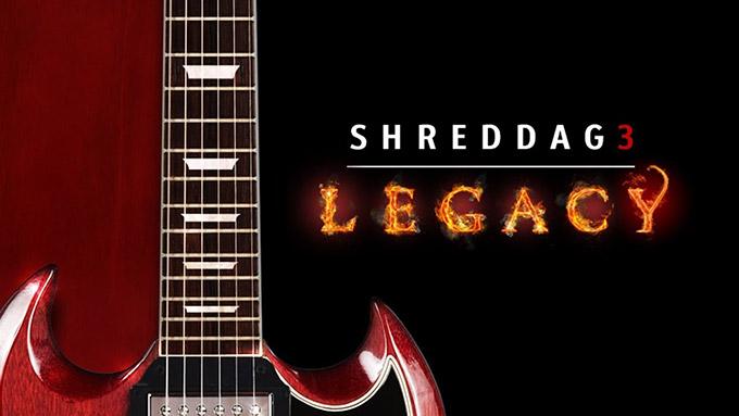 Shreddage 3 Legacy をレビュー【6弦ダウンチューニング音源】