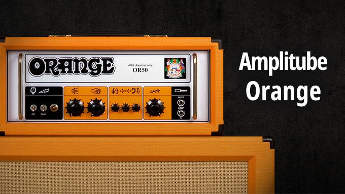 Amplitube Orange レビュー【貴重なOrange公式アンプシミュレーター】