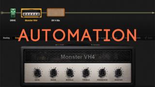 BIAS FX で MIDI オートメーションを書いてエフェクトを自動操作する方法