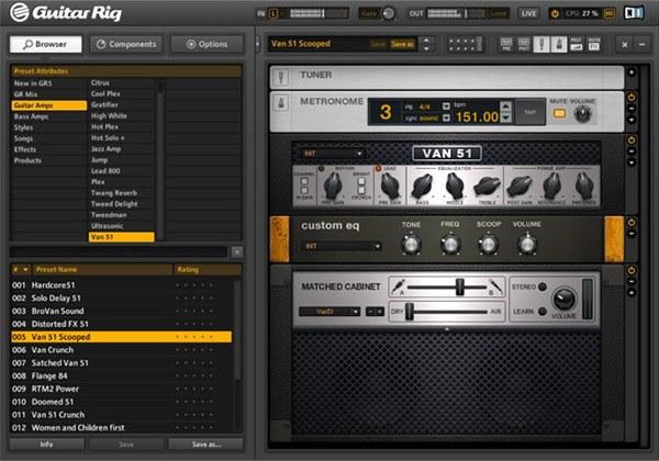 Guitar Rig 5のイメージ