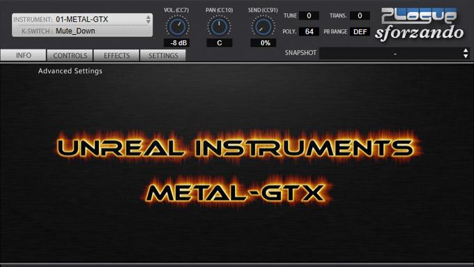 【無料ギター音源】「Standard Guitar」「METAL-GTX」を試してみた【Unreal Instruments】