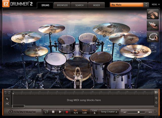 EZX Rock Solidの画面