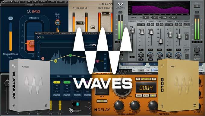 Waves GoldとWaves Plutinumのおすすめプラグイン10選