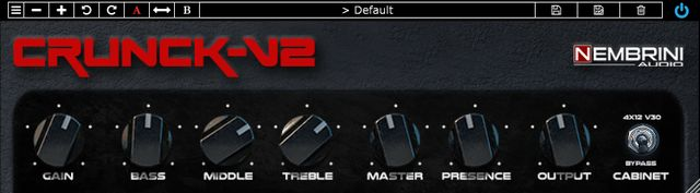 Nembrini Audio Crunck V2のイメージ
