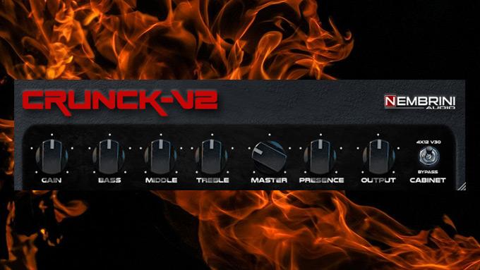 【Nembrini Audio】Crunck V2 Guitar Amplifier【フリーアンプシミュレーター】