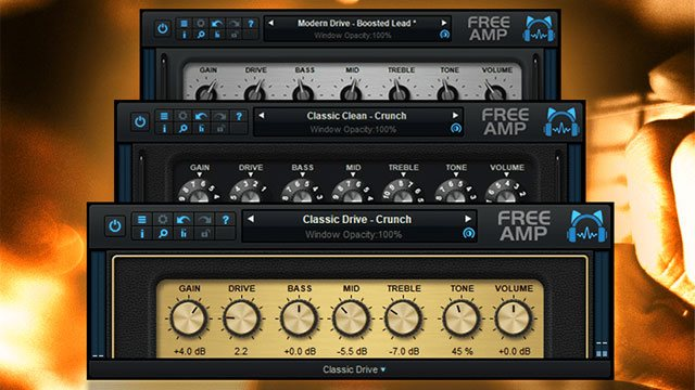 Blue Cat's Free Ampのイメージ