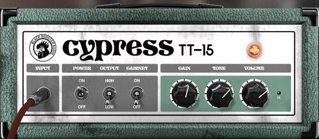 Cypress TT-15のGUI