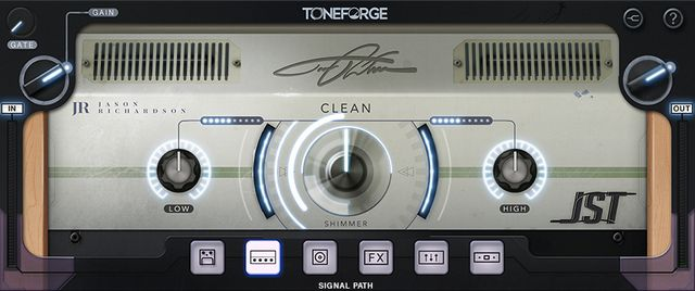 Toneforge Jason RichardsonのCleanアンプ