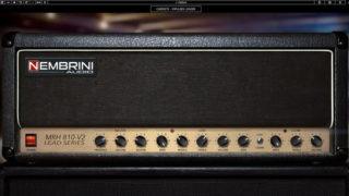 【Nembrini Audio】MRH810 V2 レビュー【JCM800】【アンプシミュレーター】