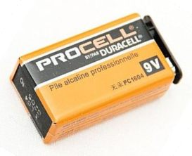 DURACELL PROCELL旧パッケージデザイン
