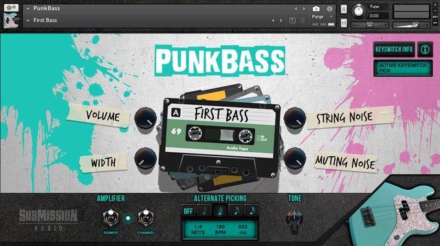 PunkBass First Bass