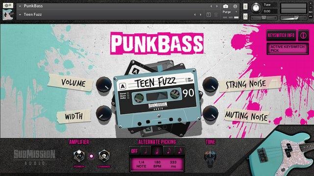 PunkBass Teen Fuzz