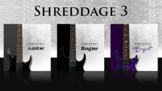 【7弦ギター音源】Shreddage 3 Jupiter / Rogue / Serpent をまとめて比較レビュー