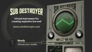 【JST】Sub Destroyer レビュー【サブベース】【ブレイクダウン】